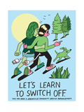 Jeremyville: Lets Learn To Switch Off