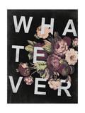 WHATEVER  and Vintage Floral Design
