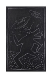 Haring - Subway Drawing