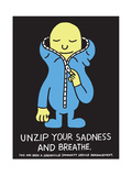 Jeremyville: Unzip Your Sadness And Breathe