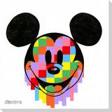 Pixel Drip Mickey