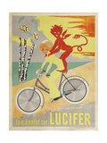 Advertising Poster for Lucifer Bicycles