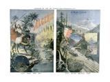 Affiches touristiques des Chemins de fer de Paris-Lyon-Mediterranee - Algerie et le mont Cervin