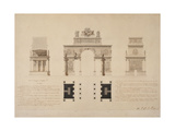 Triumphal Arch to the Emperor Napoleon I