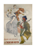 Advertising Poster Van Houten Cocoa