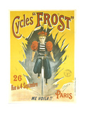 Advertising Poster for Frost Bicycles