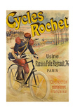 Advertising Poster for Rochet Bicycles