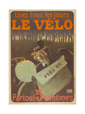 Advertising Poster for the Newspaper Le Velo  1897