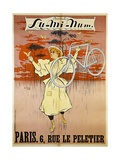 Advertising Poster for Lu-Mi-Num Bicycles