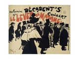 Decadent's Concert Le Lever De Madame Poster
