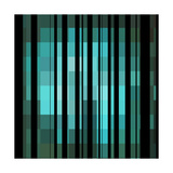 Pixels Stripe Pattern Design