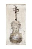 Violin Study  Back