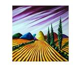 Amber Fields under Lavender Skies