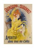 Advertising Poster  Quinquina Dubonnet