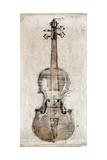 Violin Study  Front