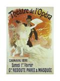 Theatre de l'Opera  Carnaval 1896  Samedi 1er Fevrier  Grande Redoute Paree and Masquee