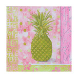 Pineapple Pink and Green Flower
