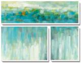 Lights on the Beach Tableau multi toiles par Karen Lorena Parker