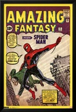 Spider-Man Amazing Fantasy 15 Comic Poster