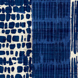 Indigo Batik I Reproduction d'art par Hugo Wild