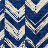 Indigo Batik II Reproduction d'art par Hugo Wild