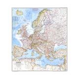 1969 Europe Map