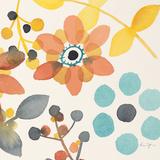 Frivolous Florals 2 Giclée premium par Karin Johannesson