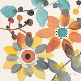 Frivolous Florals 1 Giclée premium par Karin Johannesson
