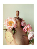 Dress Form and Peonies 1