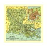 1930 Louisiana Map