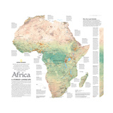 2005 Africa  A Storied Landscape Map