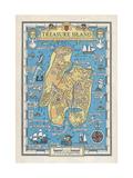 Map of Treasure Island