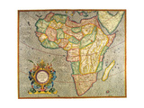 Map of Africa 1633