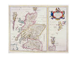 Map of Scotland  c1700