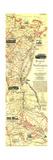 1994 Boston To Washington Circa 1830 Map