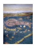 Venice: Map  16Th Century