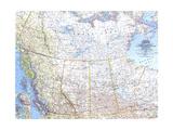 1966 Western Canada Map