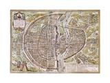 Paris Map  1581