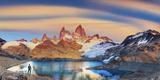 Argentina  Patagonia  El Chalten  Los Glaciares National Park  Cerro Fitzroy Peak