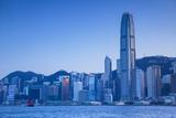 Hong Kong Island Skyline and Junk Boat  Hong Kong Island  Hong Kong