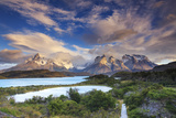 Chile  Patagonia  Torres Del Paine National Park (Unesco Site)  Lake Peohe