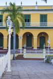 Cuba  Trinidad  Plaza Mayor  Brunet Palace Now the Museum Romantico