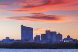 USA  New Jersey  Atlantic City  City Slkyine from the West