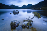 Cradle Mountain National Park  Tasmania  Australia Dove Lake at Sunrise