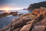 Freycinet National Park  Tasmania  Australia Sunrise over the Coastline