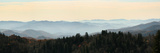 Clingmans Dome panorama  Smoky Mountains National Park  Tennessee  USA