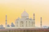 India  Uttar Pradesh  Agra  Taj Mahal in Golden Dawn Light