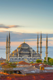 Turkey  Istanbul  Sultanahmet  the Blue Mosque (Sultan Ahmed Mosque or Sultan Ahmet Camii)
