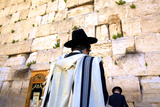Worshippers at the Western Wall  Jerusalem  Israel  Middle East