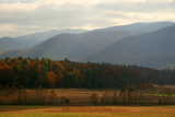 Autumn in Cades Cove  Smoky Mountains National Park  Tennessee  USA
